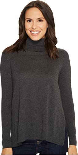Tribal - Turtleneck Tunic Sweater