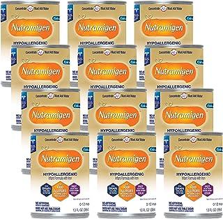 Nutramigen Hypoallergenic Infant Formula From Enfamil - Lactose & Milk Free Formula - Concentrated Liquid Can, 13 oz. (12 ...