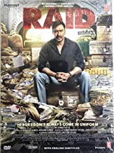 RAID (Brand New Single Disc Dvd, Hindi Language, With English Subtitles, Released By T-Series)