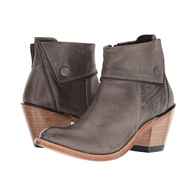 Old West Boots Zippered Ankle Boot (Grey) Cowboy Boots