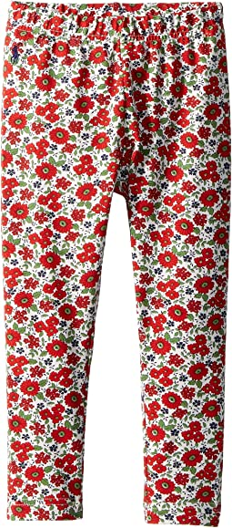 Floral Stretch Jersey Leggings (Toddler)