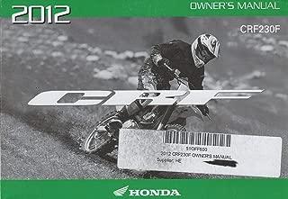 honda crf230f owner's manual