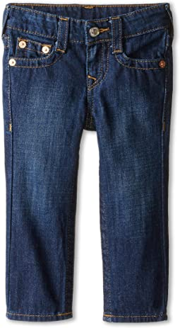 True Religion Kids - Geno Relaxed Slim Vintage Gold Single End Classic in Antique (Toddler/Little Kids)