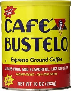 Cafe Bustelo Ground Coffee Can, Regular, 10 Ounce