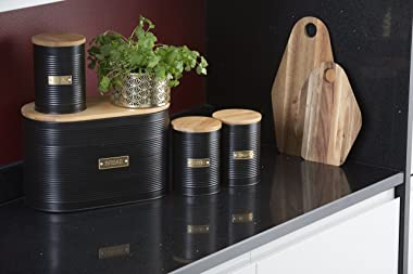 Typhoon 1401.149 Coffee Storage Canister, Otto Black 29126