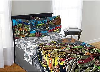 Franco Manufacturing Teenage Mutant Ninja Turtle Cross Hatching Full Sheet Set Only