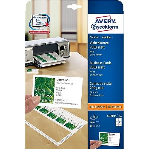 Visitenkarten Drucken Amazon De