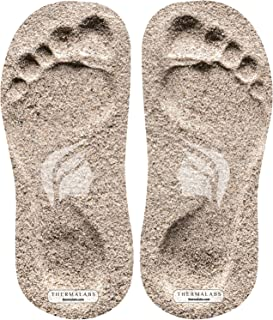 Thermalabs Sticky Foam Feet Pads for Self Tanning, 60 Pairs of Disposable Strapless Stick on Sole Protector Tanning Foot Pad for Spray Tan or Spray Tanning Tent, Ideal for Sunless Tan, 120 Units