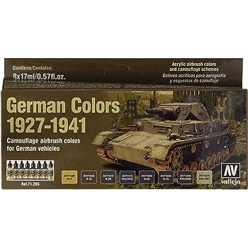 Vallejo Acrylic Paints German Afrika Korps 1942-44 Paint Se 8429551784108 DAK