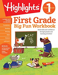 The Big Fun First Grade Activity Book (Highlights™ Big Fun Activity Workbooks)