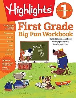Correct title: First Grade Big Fun Workbook (Highlights™ Big Fun Activity Workbooks)