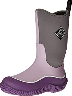 Muck Boot Kid's Hale Boot, Purple/lavender Leopard