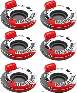 Intex River Run 1 Water Inflatable Tube Raft (6 Pack)