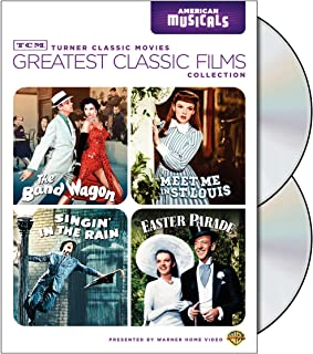 TCM Greatest Classic Films Collection: American Musicals (The Band Wagon / Meet Me in St. Louis / Singin' in the Rain / Ea...