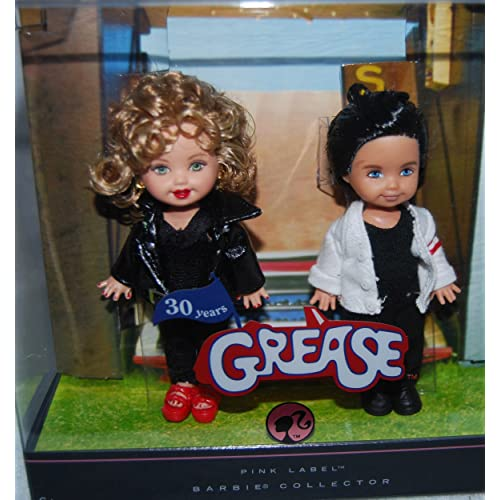 a981116928 Mattel Grease Barbie Kelly Celebrity Kelly and Tommy Dolls