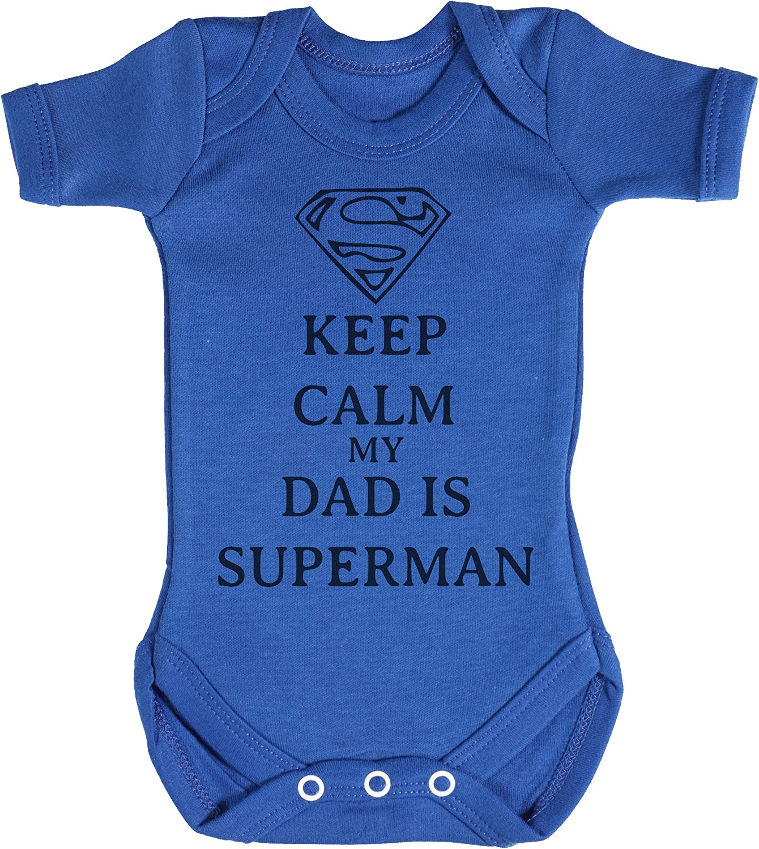 Super Man Baby Bodysuit Babygrow