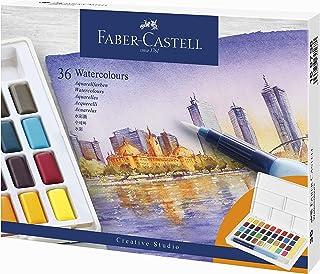 ファーバーカステル 固形水彩 ウォーターカラーパレット 36色 169736