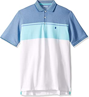 Men's Big and Tall Advantage Performance Short Sleeve Colorblock Polo