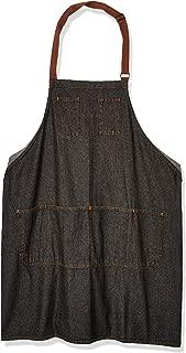 Chef Works Unisex Memphis Bib Apron, Black, One Size