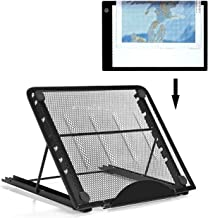 Ventilated Adjustable Light Box Laptop Pad Stand,Multifunction (6 Angle Points) Skidding Prevented Tracing Holder for Tikteck A4 LED Tracing Light Board