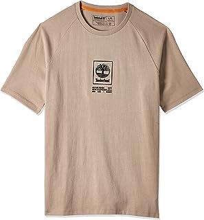 Timberland mens YC Heavy Weight Stack Logo Tee (Regular) T-Shirt