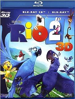 Rio 2 [Blu-Ray]+[Blu-Ray 3D] [Region Free] (English audio. English subtitles)