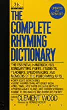 The Complete Rhyming Dictionary: Including The Poet's Craft Book PDF
