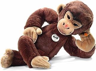 Steiff 064685 Jocko Chimpanzee Plush Animal Toy, Brown