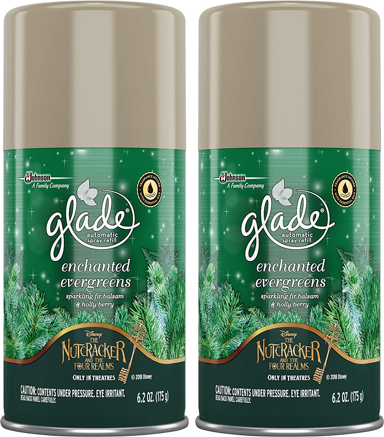 Glade 大放出セール 2018 チープ Holiday Collection Enchanted Cou Evergreens 2 6.2.Oz
