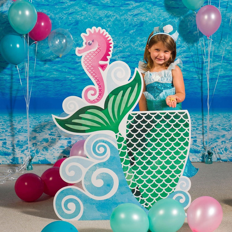 直営店 Mermaid Waves and Wishes Photo Standup Stand Booth Prop 高級品 in