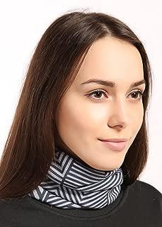 Tough Headwear Fleece Neck Warmer - Reversible Neck Gaiter Tube, Ear Warmer Headband & Mask. Ultimate Thermal Retention, Versatility & Style. Constructed with Performance Comfort Fleece & Microfiber