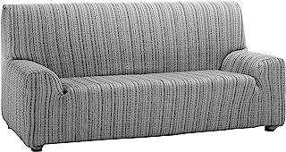 Martina Home Mejico - Funda de sofá elástica Gris 4 Plazas 240 a 270 cm de ancho