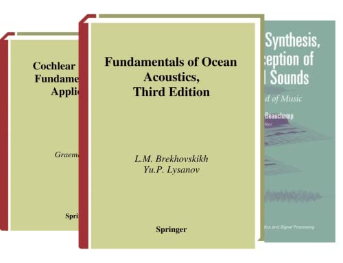 Modern Acoustics and Signal Processing (20 Book Series)