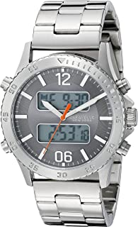 Caravelle New York Men's 43B141 Analog-Digital Display Analog Quartz White Watch