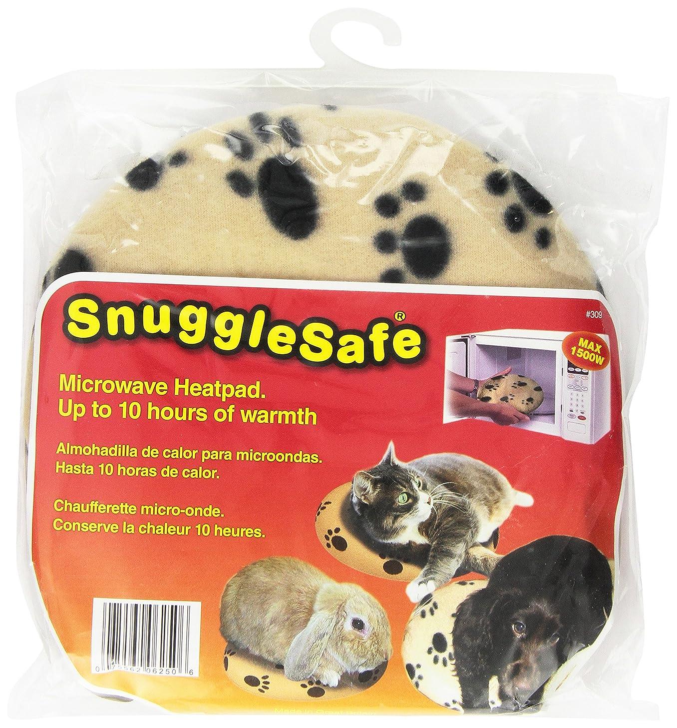 光の泥沼退屈Pet Supply Imports Snuggle Quick Safe Microwave Heat Pad Pet Warmth Comfort