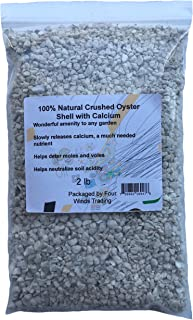 Natural Crushed Oyster Shell with Calcium (2 lb)