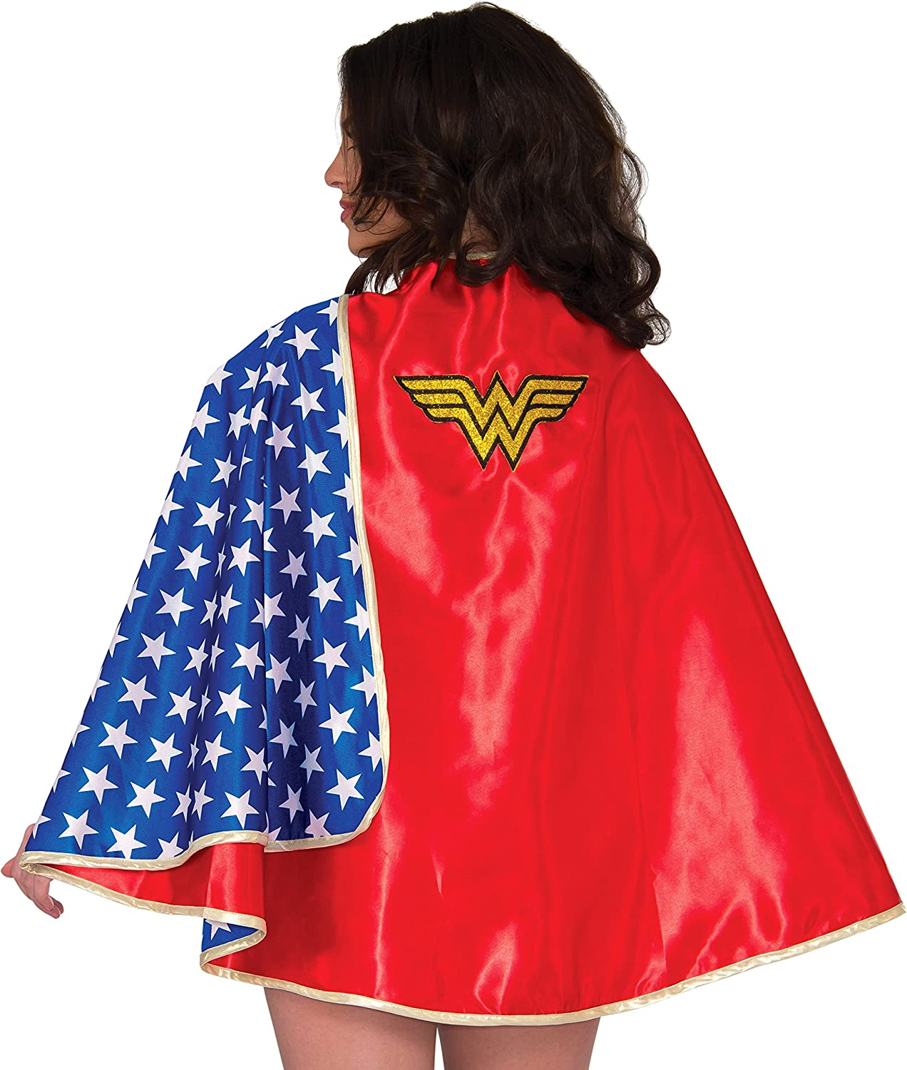 Rubie's DC Comics Free Shipping New Wonder Cape Our shop most popular 30-Inch Woman Adult