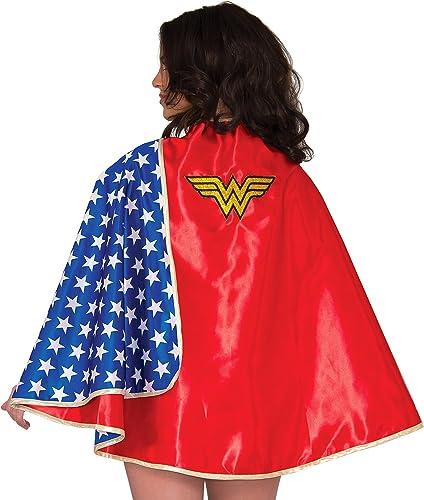 Rubie's DC Comics Wonder Woman Adult 30-Inch Cape