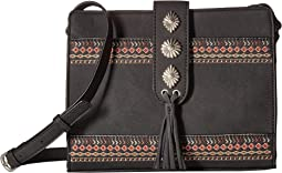 American West Del Rio Zip Top Crossbody