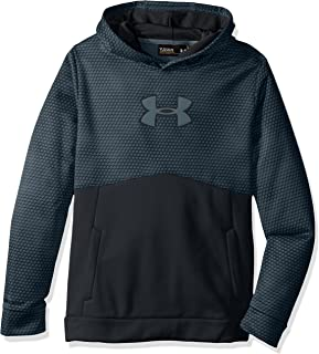 Under Armour Boys Storm Fleece Mid Logo Hoodie