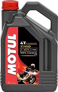 Motul 104104 7100 20W50 Synthetic Motor Oil