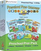 Preschool Prep Pack - 4 DVDs