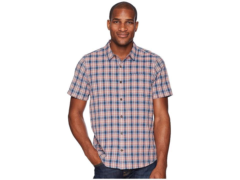 Toad&Co Airscape Short Sleeve Shirt (Deep Navy) Men