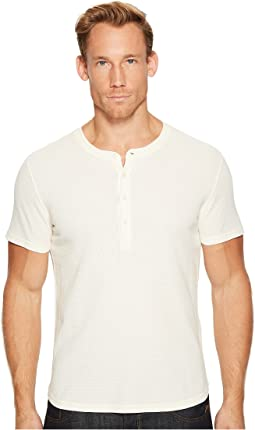 7 For All Mankind - Short Sleeve Thermal Henley