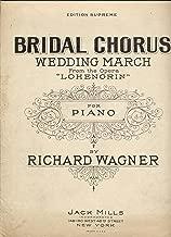 Bridal Chorus Wedding March For Piano