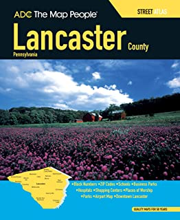 Best street map of lancaster pa Reviews