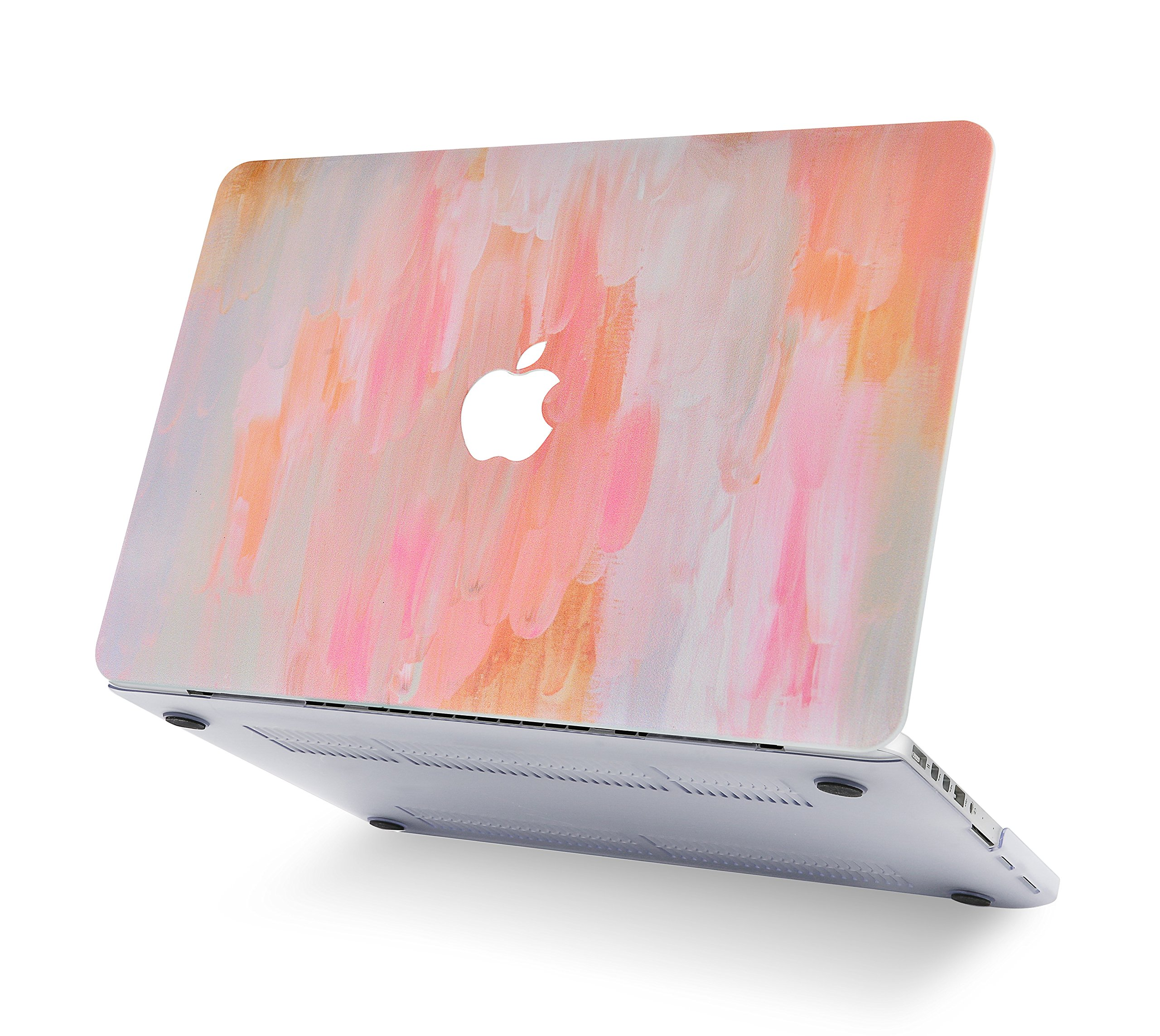 Case for MacBook Air Shining Cute Beautiful Painting Plastic Hard Shell Compatible Mac Air 11 Pro 13 15 13 MacBook Pro Case Protection for MacBook 2016-2019 Version