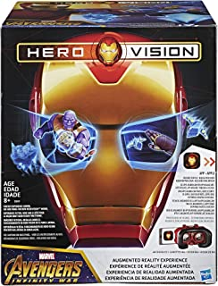Acessório Máscara Visão De Herói (hero Vision) Homem De Ferro - E0849 Avengers Acessório Máscara Visão De Herói (hero Vision) Homem De Ferro - E0849 Mkt