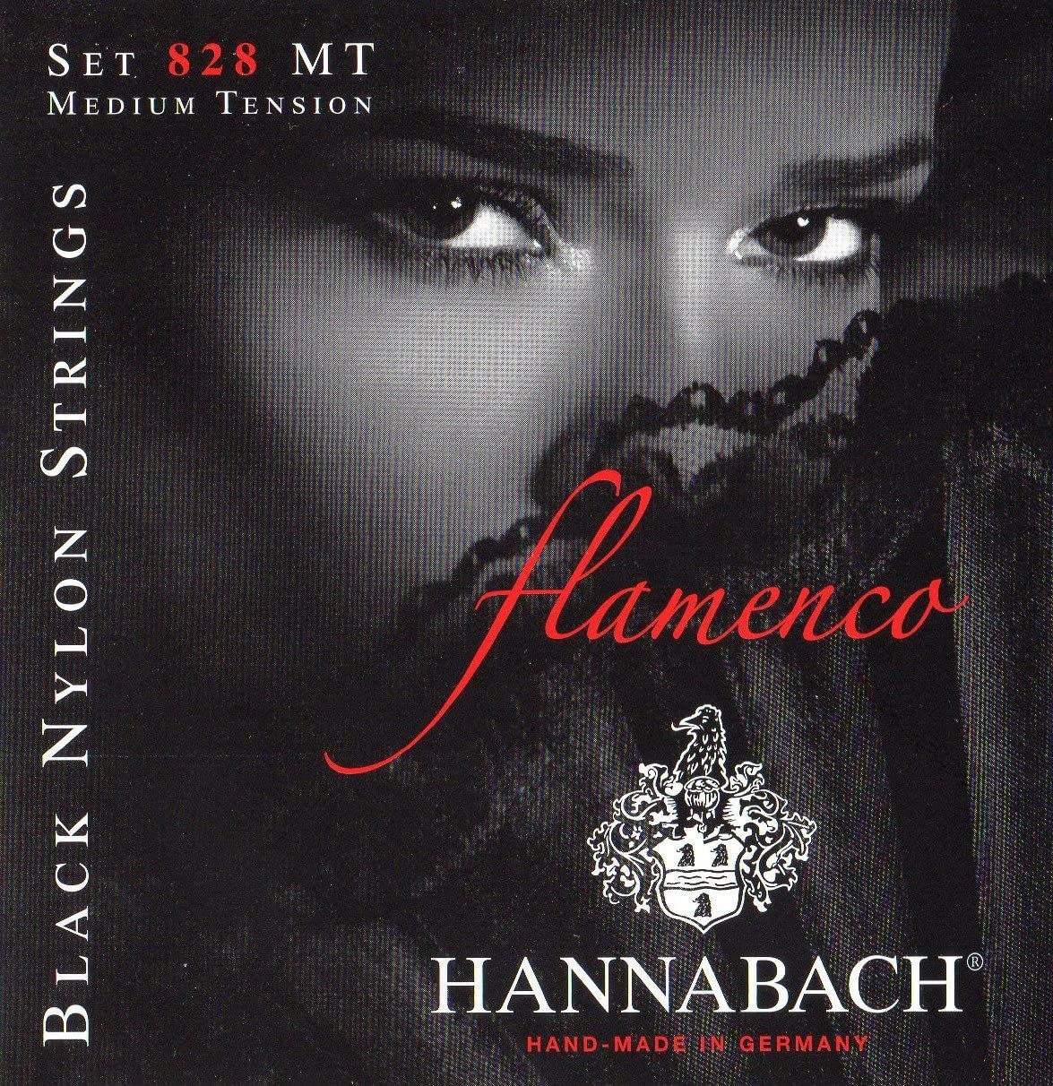 Department store Hannabach Directly managed store 652967 Series 828 Flamenco Tension Set String Medium f