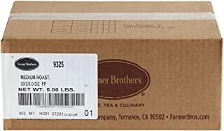 Farmer Brothers Coffee - Ground Medium Roast 2 Oz Filterpack (Bulk 40 Pack)